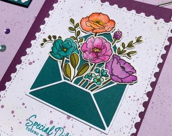 Special Delivery - Dark Teal Envelope Version