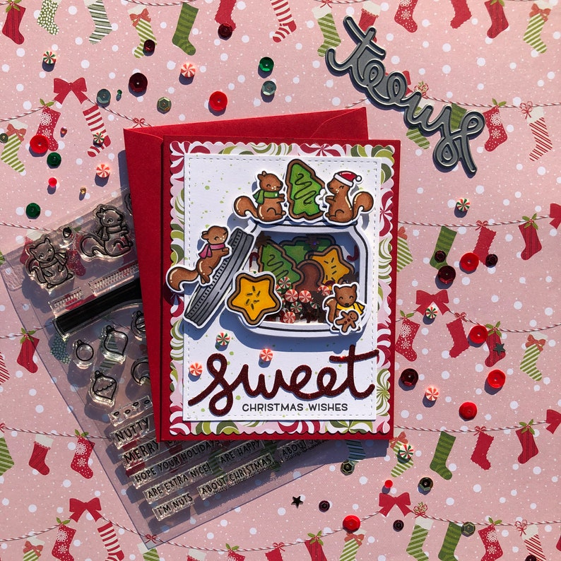 Holiday Cookie Jar Shaker Card image 0