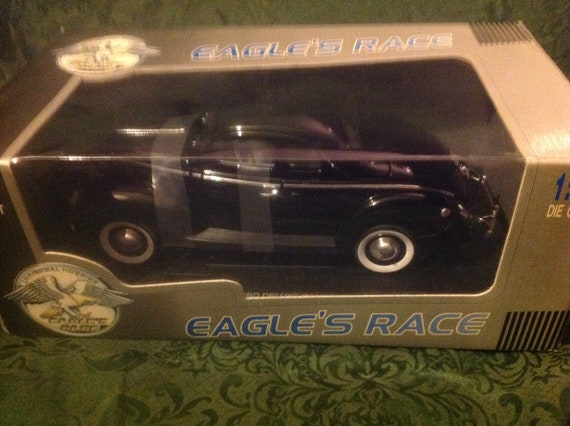 118 Car 1940 Ford Deluxe Eagles Race Mib Box