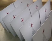 HateMail For The Holidays --- Pack Of 10 Greeting Cards - Free Shipping