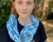 Blue Weevil Handmade Twisted Jersey Cowl