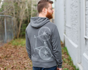 Men's Fixie Pullover Hoodie - Silverback