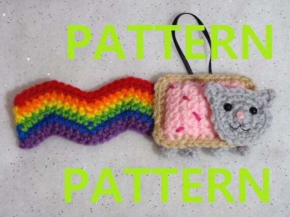 Nyan Cat crochet blanket   Nyan cat, Cat rug, Pixel crochet   428x570