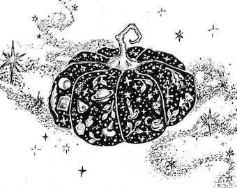 Magic Pumpkin 5x7 print