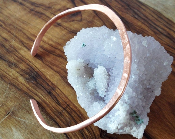Hammered Cuff Bracelet.