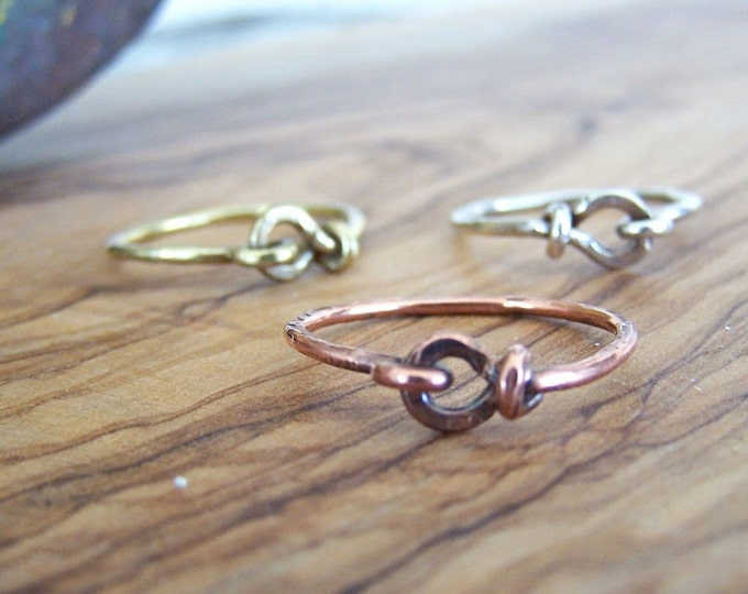 Clearance Sale: **READY TO SHIP** Latch Ring. Choose your finish.