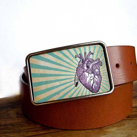 Radiant Heart Buckle.