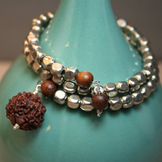 Natural Wrap Bracelet- Diffuser Jewelry