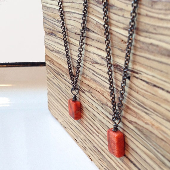 Clearance Sale: **READY TO SHIP** Minimalist Necklace. Sienna.