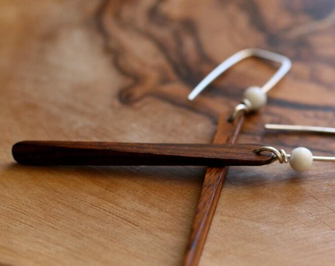 Eames Earrings. Choose your finish.