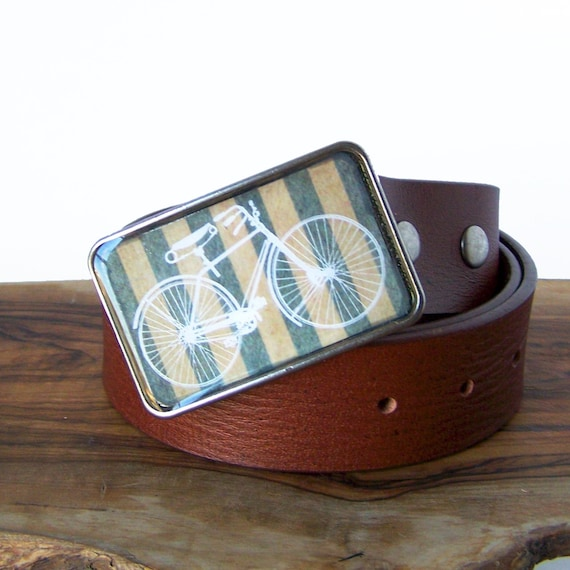 Bicycle Buckle. Stripes.