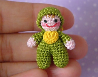 Miniature Itty Bitty Baby Doll -  AMIGURUMI Crochet PATTERN
