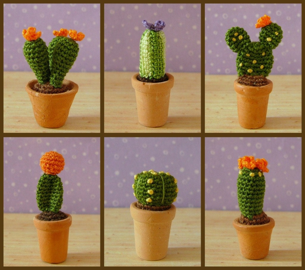 Miniature,Cactus,Plants,-,Amigurumi,Crochet,PDF,Pattern,succulents,cactus,crochet_cactus,crochet_succulents,miniature_cactus,Mini_succulents,mariella_vitale,muffa_miniatures,PDF_Pattern,Crochet_Tutorial,crochet_pattern,miniature_amigurumi,miniature_crochet,amigurumi,micro_crochet