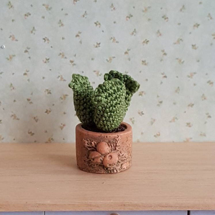 Miniature,Crochet,Cactus,Plant,Toys,succulents,handmade,Muffa_Miniatures,Dollhouse,collectible,micro_crochet,igma,Toy,Flower_pot,Cotton thread,Poly fill,Terracotta pot