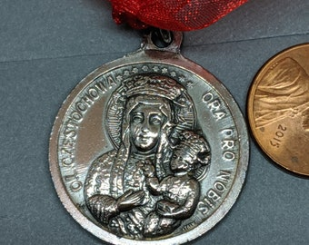 Vintage Religious Medals Jewelry Collectibles by Glamaroni on Etsy