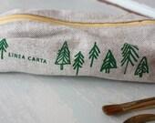Pencil Case (trees)