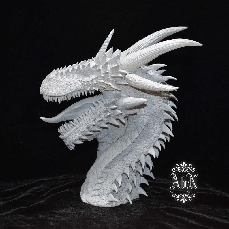 Dragon Bust  Resit Kit Viserion Fan Art  Fantasy  Artist image 0