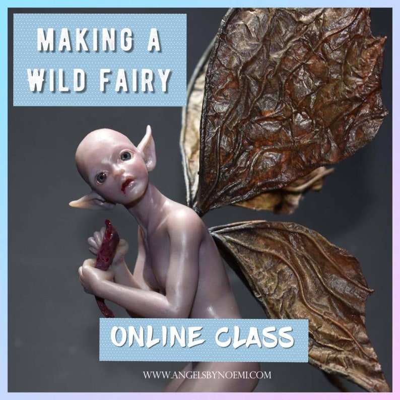 Online Class How to Make a Wild Fairy Angels by image 0