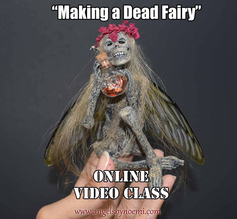 Making a Dead Fairy  Online Class  Angels by Noemi  Making image 0