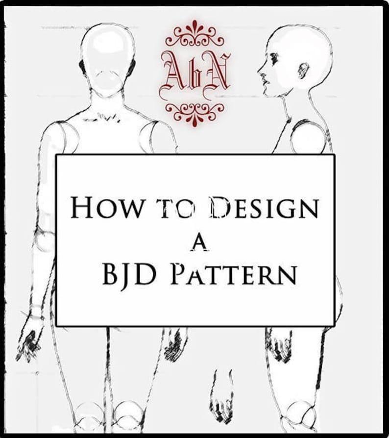 Online Class How to Design a BJD Pattern OOAK Art image 0