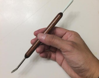 Two sides Sculpting Tool - Modelling Tool - For polymer clay Art Dolls OOAK