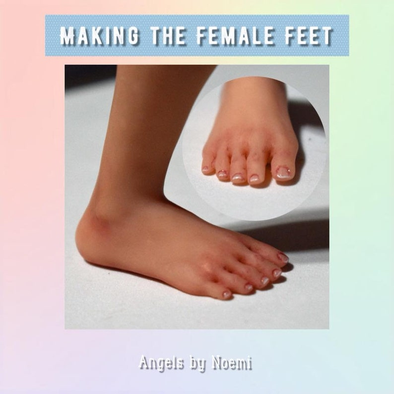 Online Class  Making the Female Feet  in Polymer image 0