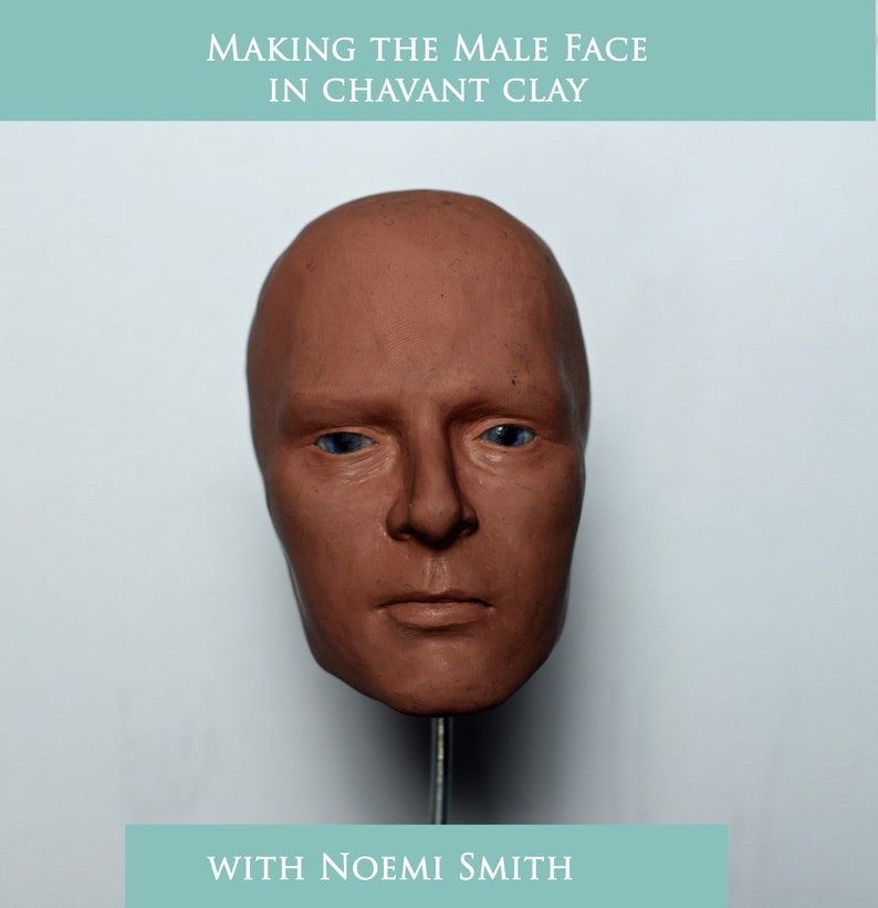 Online Class Making the Male Face in Chavant Clay image 0