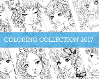 Coloring Page Collection 2017
