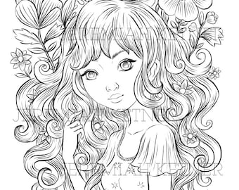 Another Dream - Coloring Page