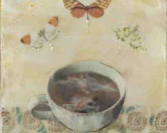 Estelle's Table - Giclee Print