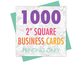 100 business cards 2 square mini business cards 1000 2 square mini business cards printed business card printing square card printing hang tag printing matte or glossy coating reheart Image collections