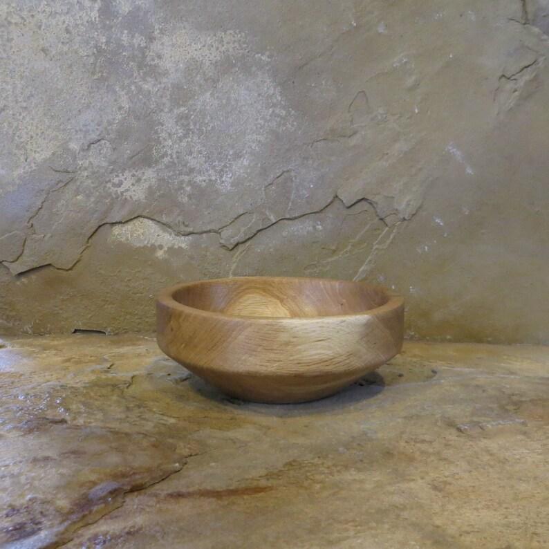 Gambel Oak Small Bowl Hand Turned Wood