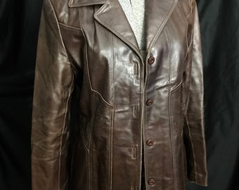 Vintage Leather Jacket 1d5a14278f8d