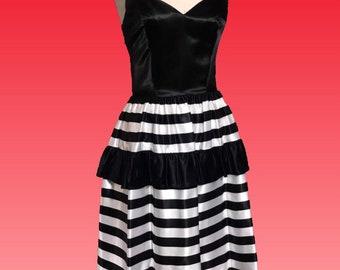 ca1381c5baf Vintage 80s Prom Dress