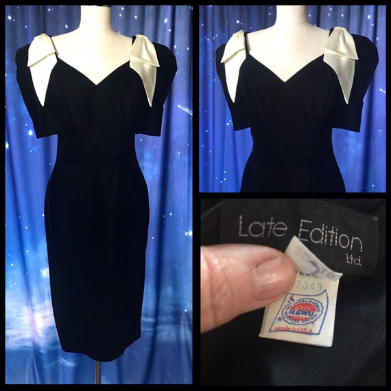 Vintage 80's Prom Dress, Size 5/6 Prom Dress, Vint