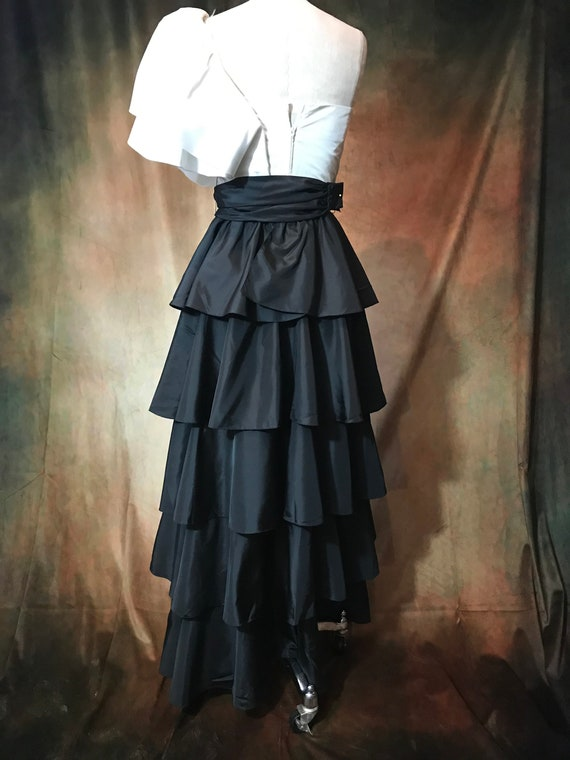 Vintage 80's Prom Dress, 80's Party Dress, Small … - image 9