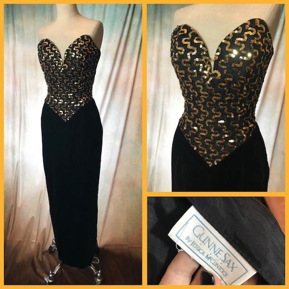 Vintage 80's Prom Dress, 80s Prom Dress, Vintage 8