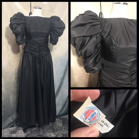 Vintage 80's Prom Dress, Size 1/2 Prom Dress, Vint