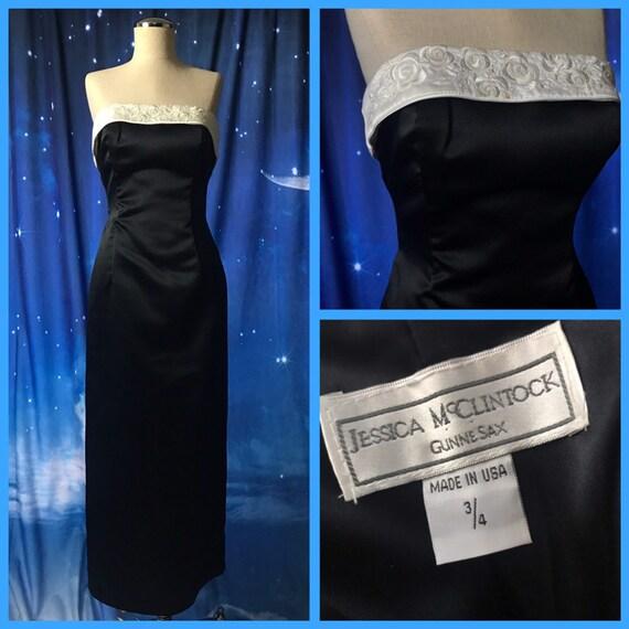 Vintage Prom Dress, Vintage Party Dress,Gunne Sax