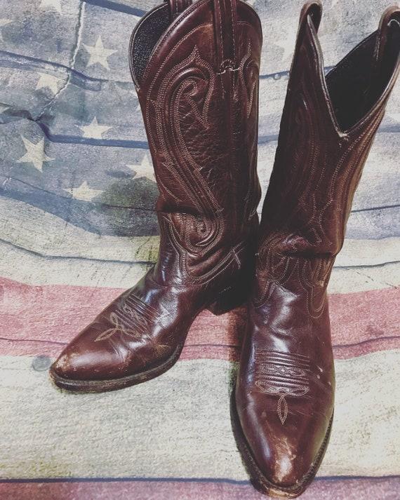 Womens Vintage Cowboy Boots 8 1/2, Womens Durango