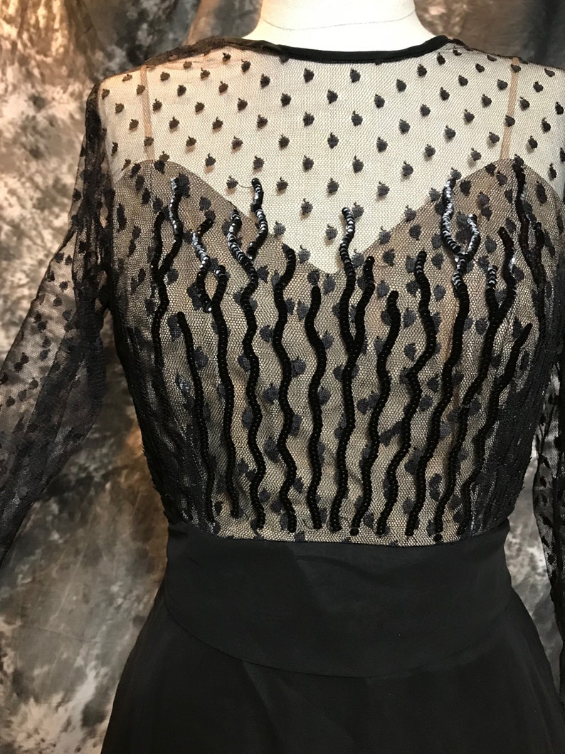 4e4ce0c641 Vintage 50s Dress Vintage Evening Gown Lord   Taylor Dress
