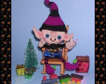 Gnome Goblin Elf Pixie Digital PDF Crochet Pattern by Peggytoes Toy Doll Ornament