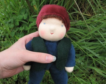 Boy Waldorf Doll Johnathan the Boy Gnome