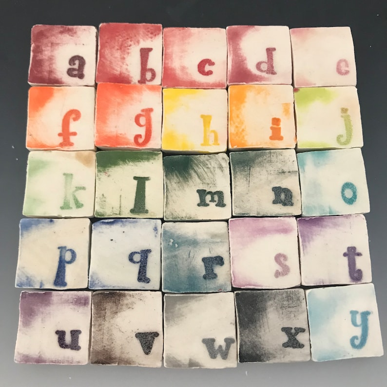 Dates Letter /& Number Mosaic Tiles CUSTOM Words PERSONALIZED 12 inch Names