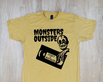 f6ba05c51 Monsters Outside VHS Legacy Tee Shirt (Soft)