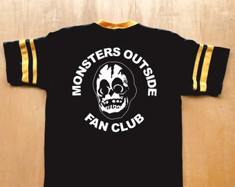 83885d7e0 PREORDER Monsters Outside Fan Club Striped Jersey Tee Shirt
