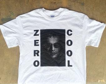 Zero Cool : Hackers / Sonic Youth Tee Shirt
