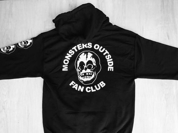 Monstres à Sweat l'extérieur du Fan Club Sweat à à capuche 8c7044