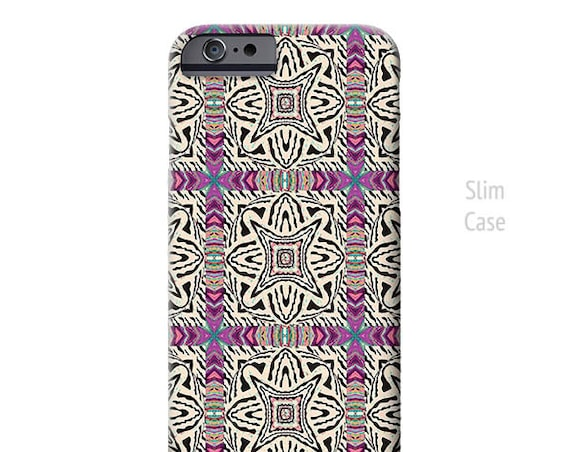 Renaissance Purple -BOHO iPhone Case