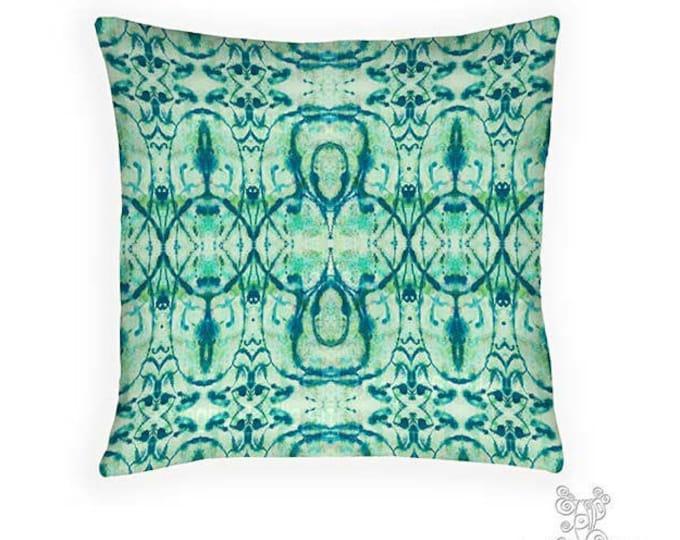Turquoise pillow, Pillow, Hippie Pillow, Decorative pillows, blue pillows, throw pillows, accent pillow, pillows, boho pillows, boho decor